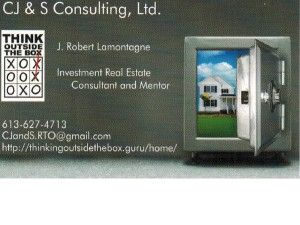 CJ&S RTO - Business Card - Front